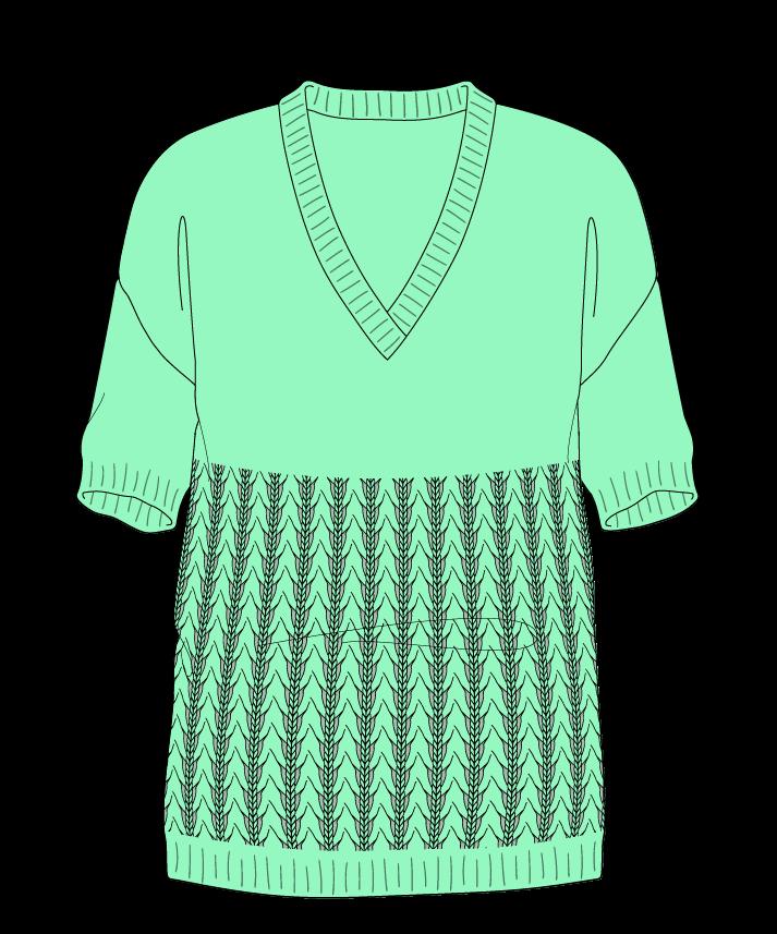 Regular fit Full length body V-neck Short sleeve Little fountain lace Plain Plain dropshoulder sport 50
