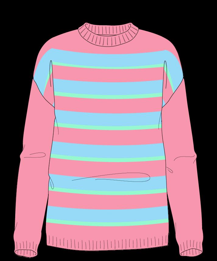 Regular fit Full length body Crew neck Long sleeve Uneven stripes Uneven stripes Plain dropshoulder sport 42