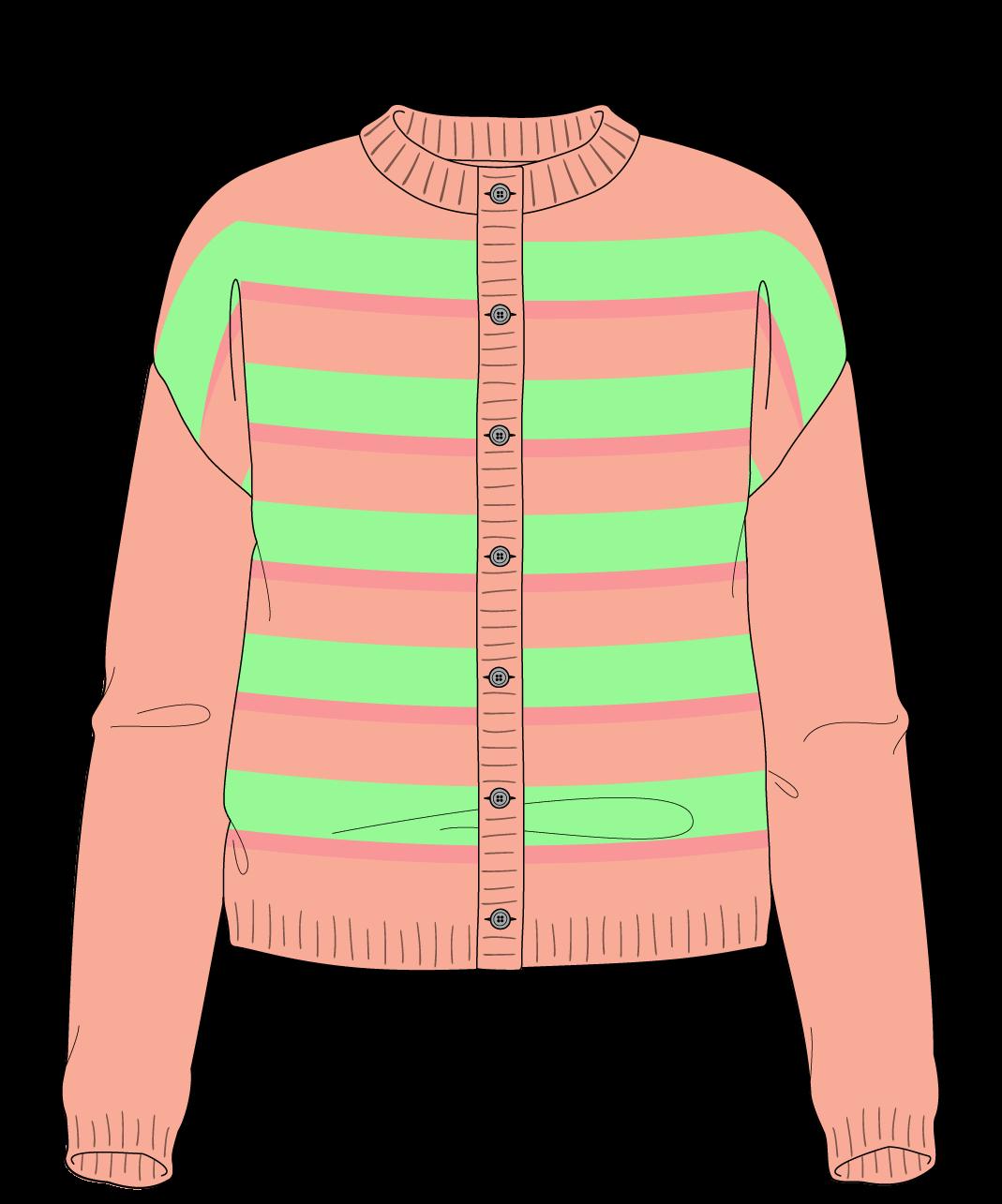 Free Knitting Pattern | Drop Shoulder Cardigan Sport (5 Ply)