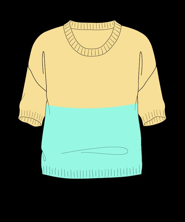 Regular fit Cropped body Scoop neck Short sleeve Colorblock 1 Plain Plain dropshoulder sport 50