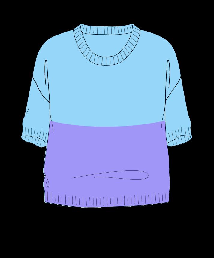Relaxed fit Cropped body Scoop neck Short sleeve Colorblock 1 Plain Plain dropshoulder sport 54