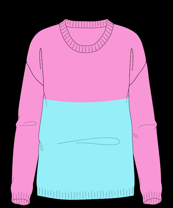 Regular fit Full length body Scoop neck Long sleeve Colorblock 1 Plain Plain dropshoulder worsted 42
