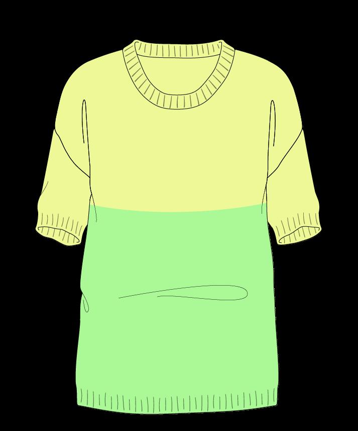 Regular fit Full length body Scoop neck Short sleeve Colorblock 1 Plain Plain dropshoulder worsted 42