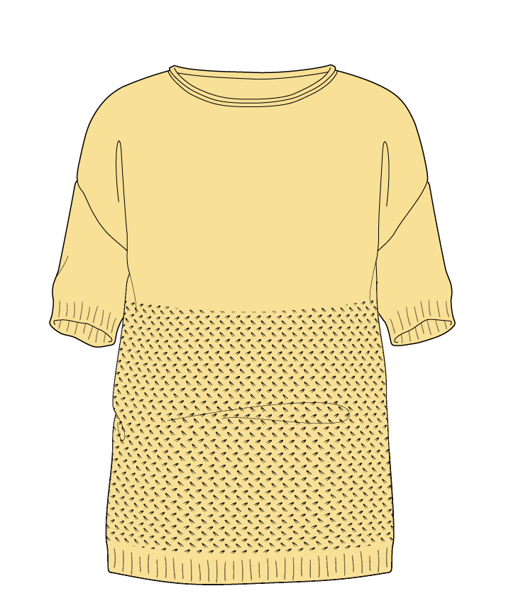 Regular fit Full length body Boat neck Short sleeve Wild oats Plain Plain dropshoulder sport 38