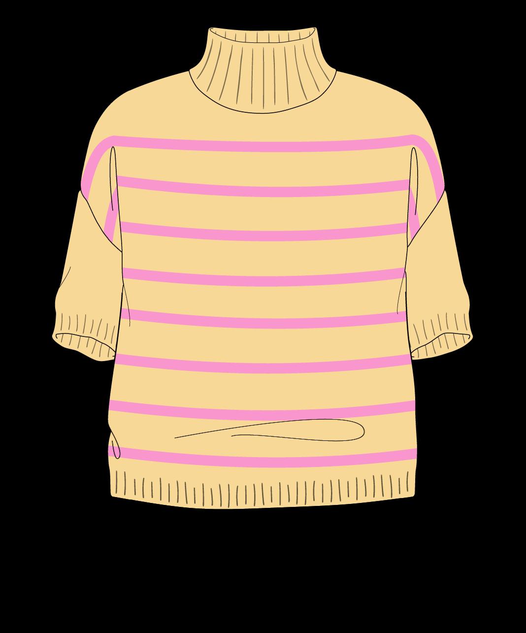 Free Knitting Pattern | Drop Shoulder Sweater Sport (5 Ply)