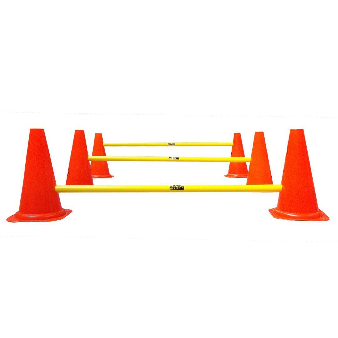 Rugby Cone Hurdle Set