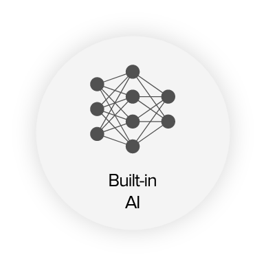 built in AI