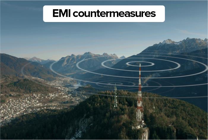 EMI countermeasures