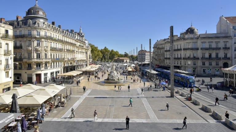 Photographie de la ville de Montpellier