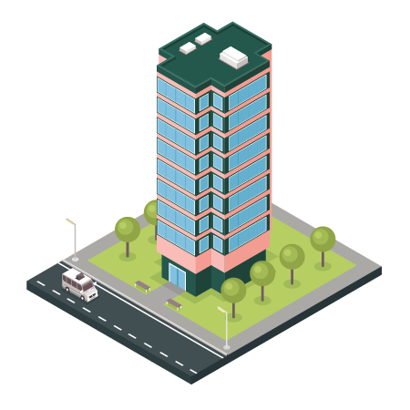 Illustration d'un immeuble