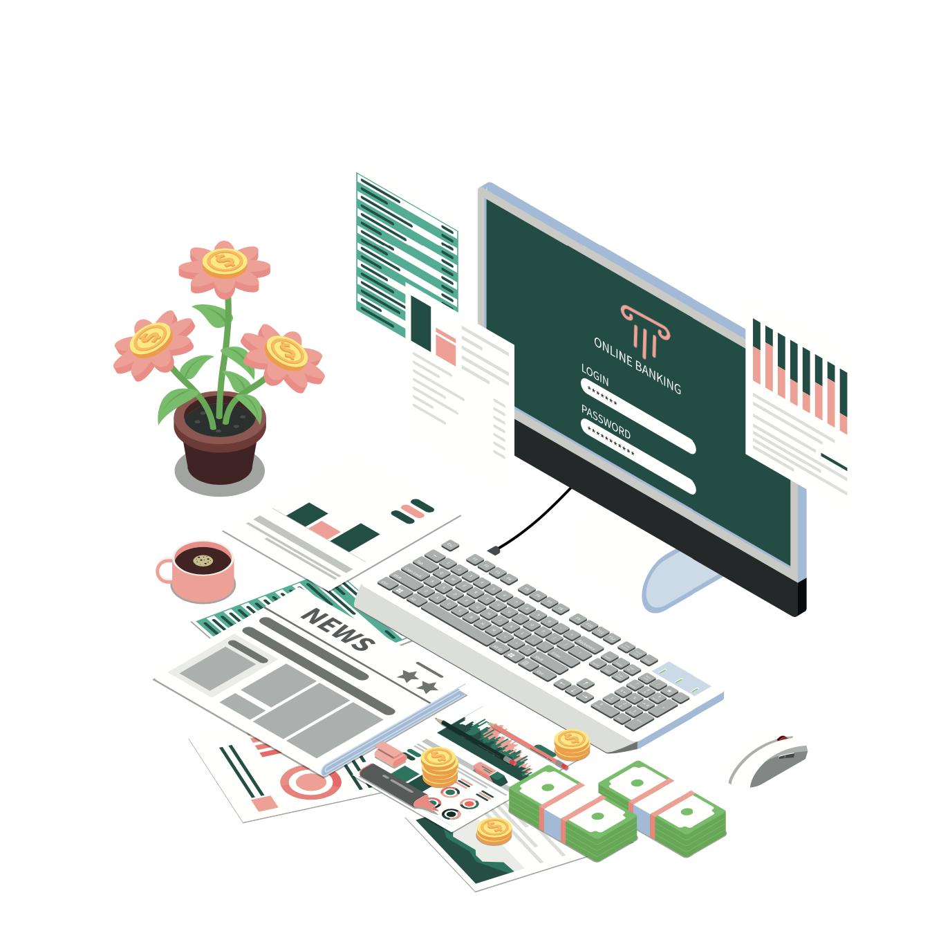 Online banking avec Masteos