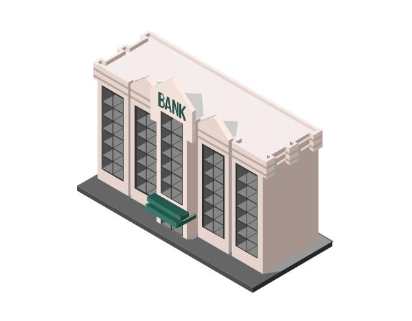 Illustration d'une banque