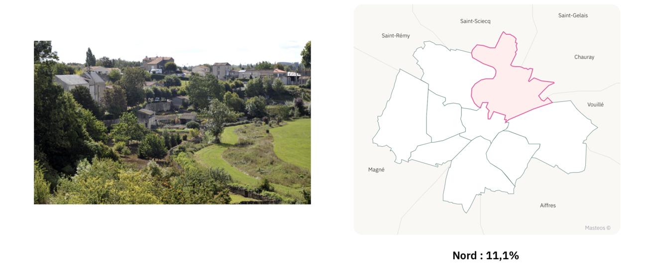 Quartier Nord de Niort ⎮ Carte des quartiers de Niort