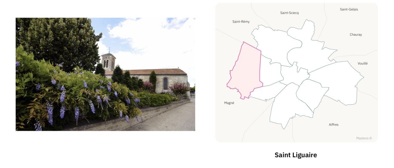 Quartier Saint Liguaire à Niort ⎮ Carte des quartiers de Niort