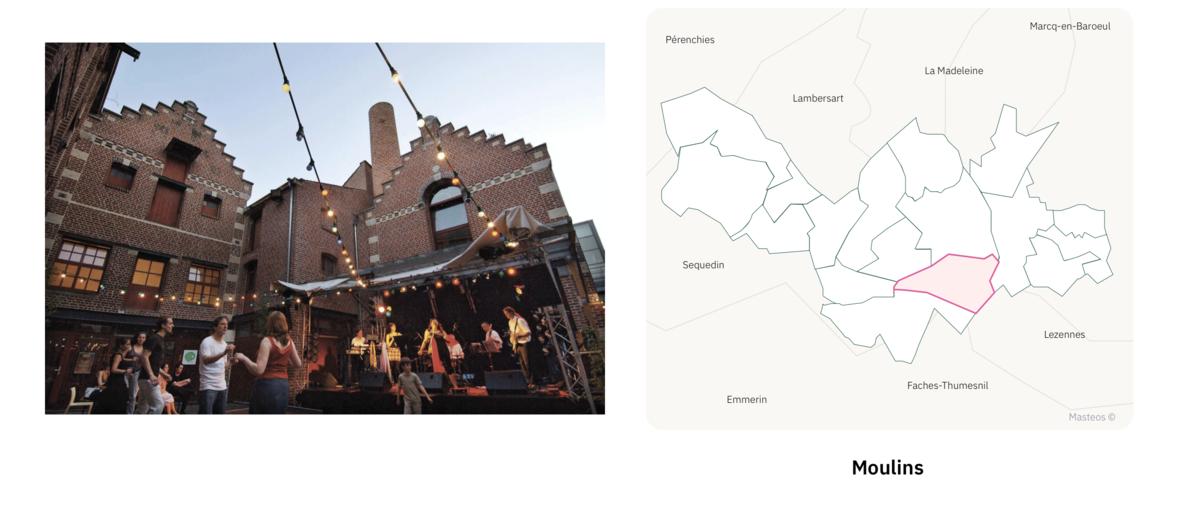 Maison Folie dans le secteur Moulins ⎮ Carte des quartiers de Lille
