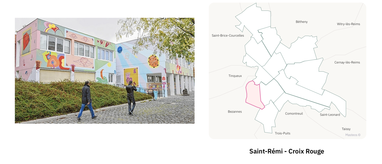 Maison de quartier Croix Rouge ⎮ Carte des quartiers de Reims