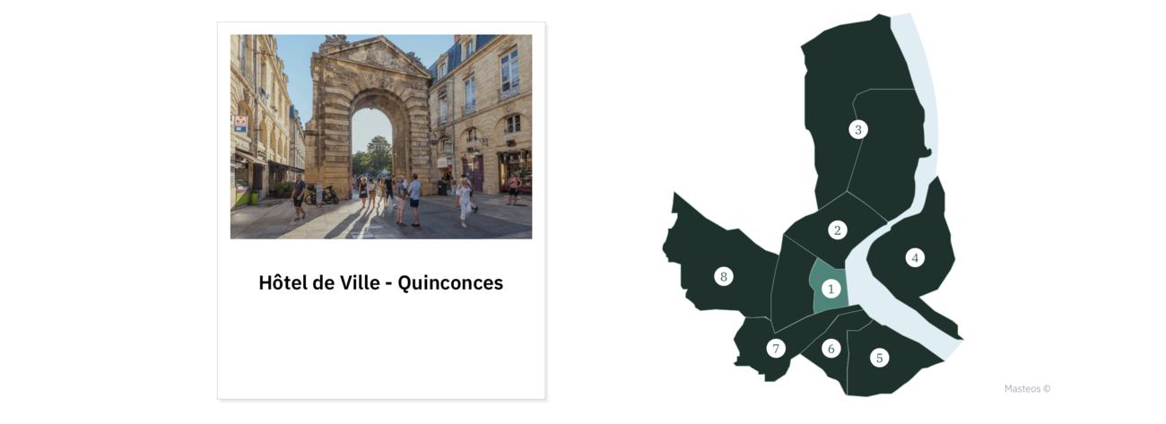 Quartier Hôtel de Ville - Quinconces ⎮ Investir à Bordeaux