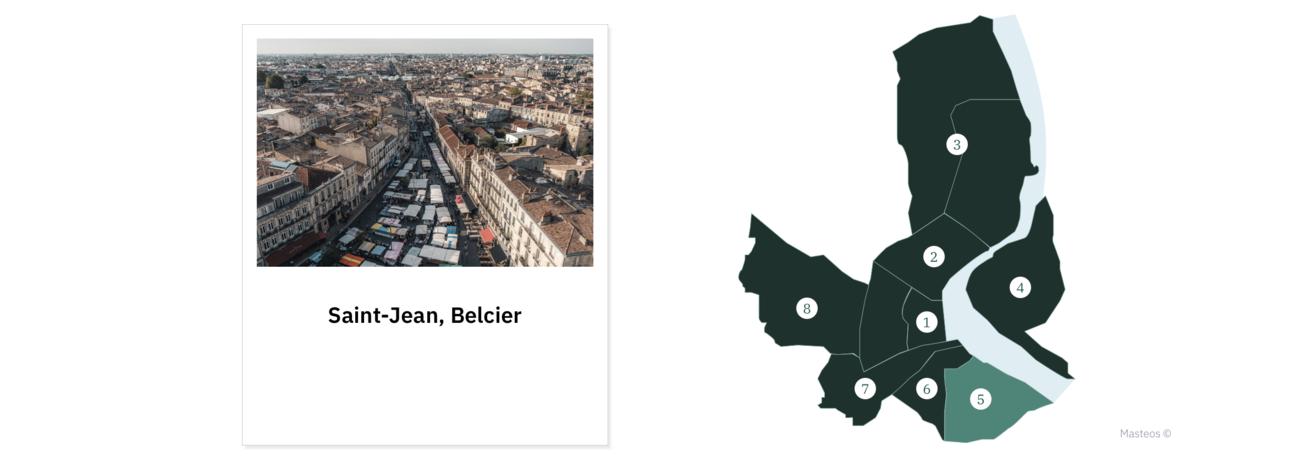 Quartier Saint-Jean, Belcier ⎮ Investir à Bordeaux