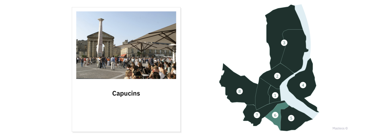 Quartier Capucins ⎮ Investir à Bordeaux