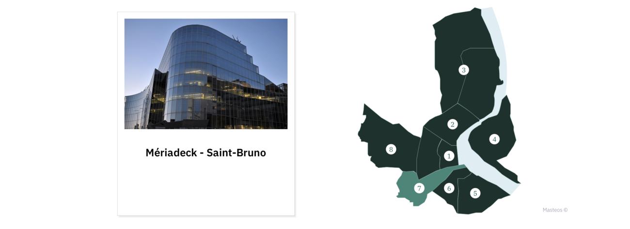 Quartier Mériadeck - Saint-Bruno ⎮ Investir à Bordeaux