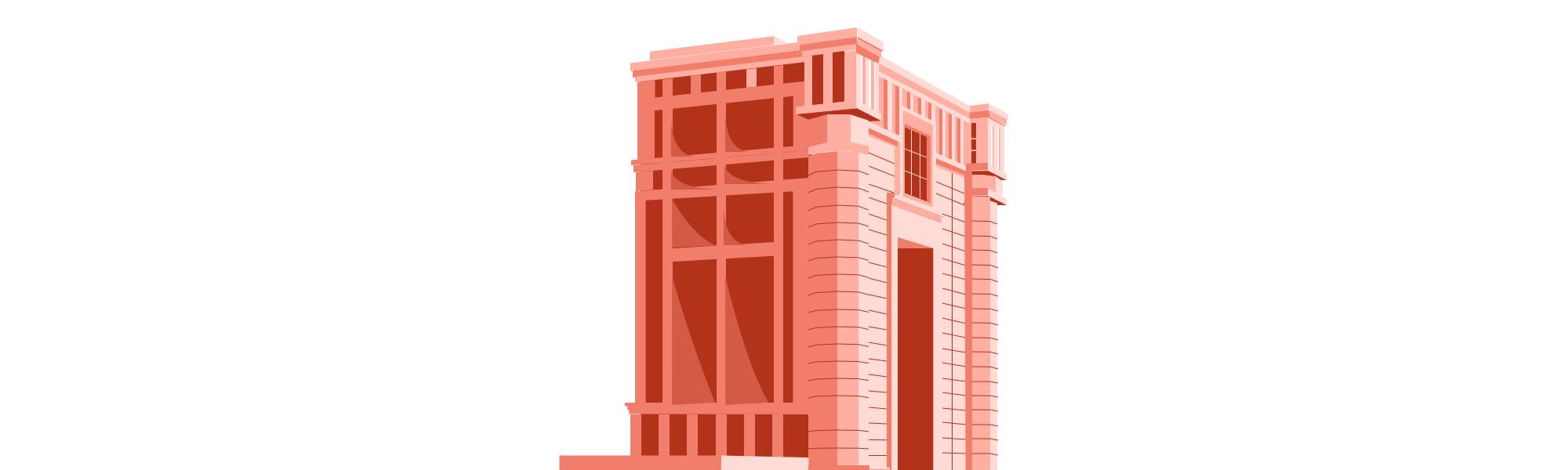 Illustration architecturale de Ricardo Bofil à Montpellier