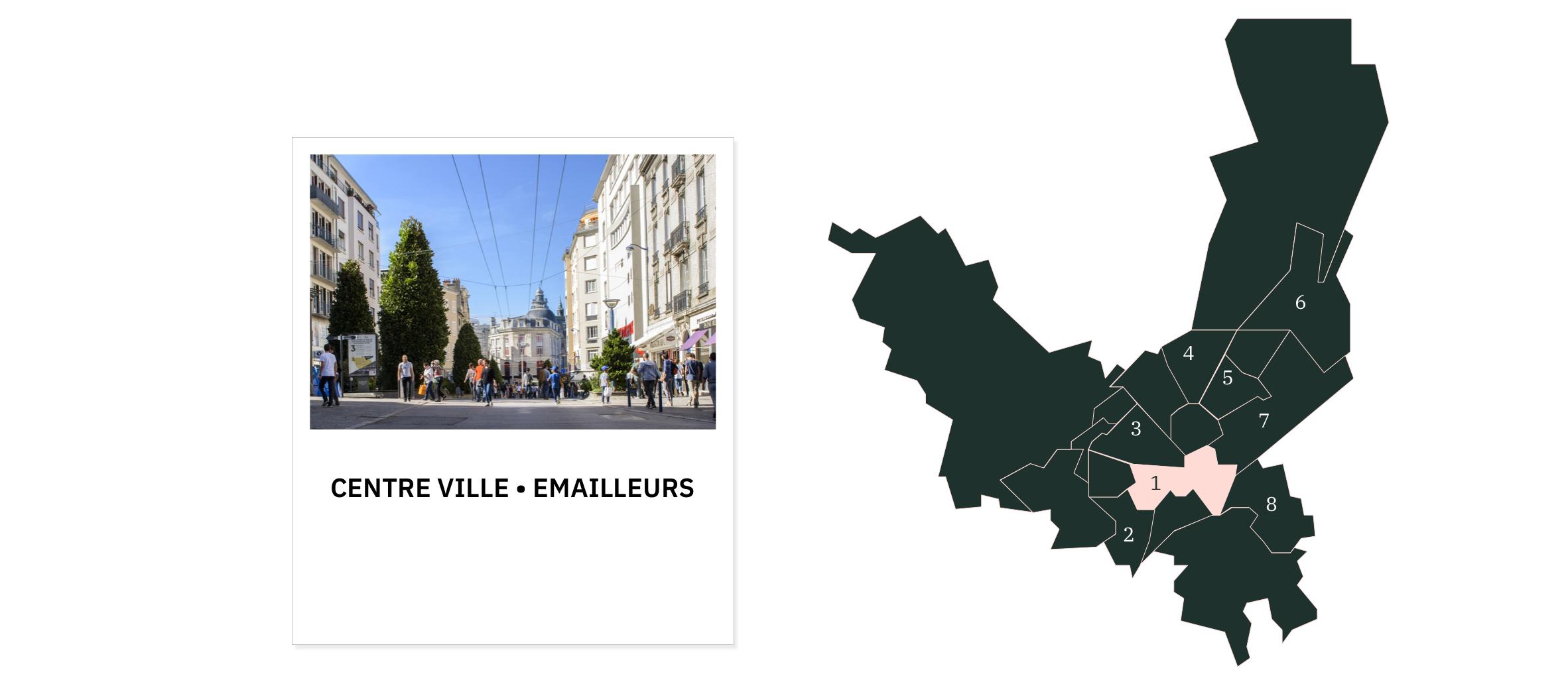 Centre ville • Emailleurs ⎮ Quartiers de Limoges
