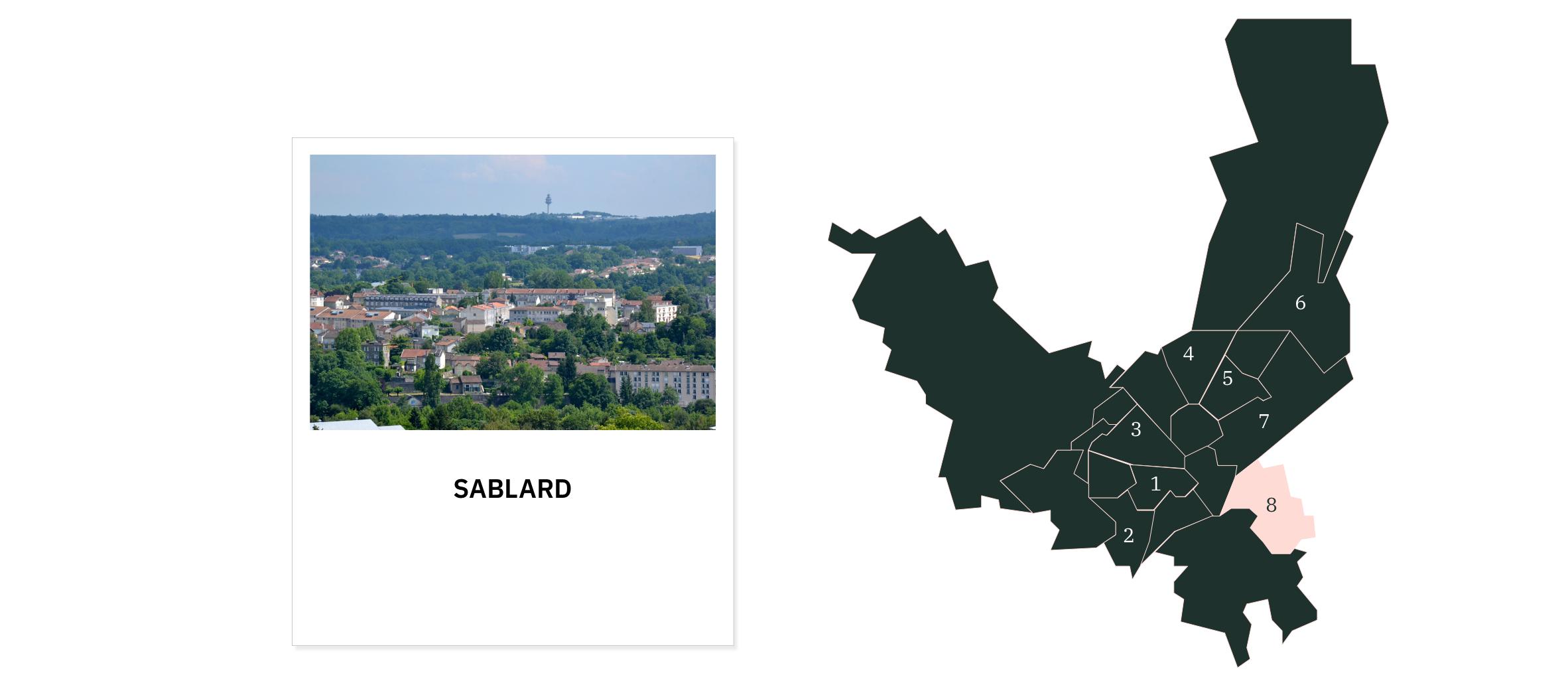 Le Sablard  ⎮ Quartiers de Limoges
