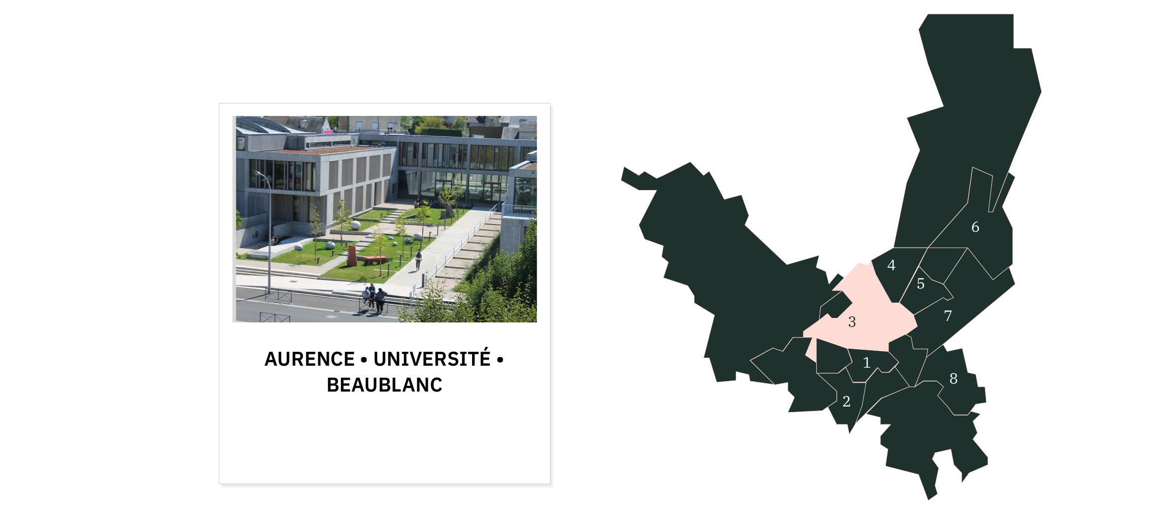 Aurence • Université • Beaublanc ⎮ Quartiers de Limoges