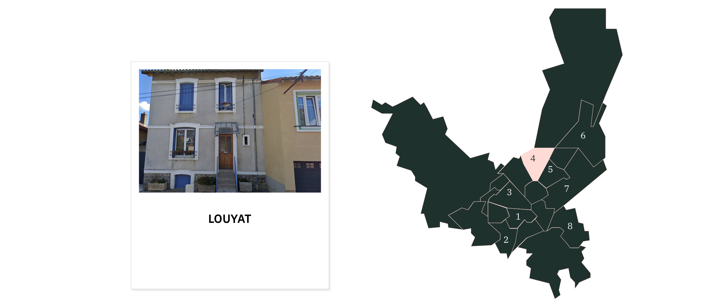 Louyat  ⎮ Quartiers de Limoges