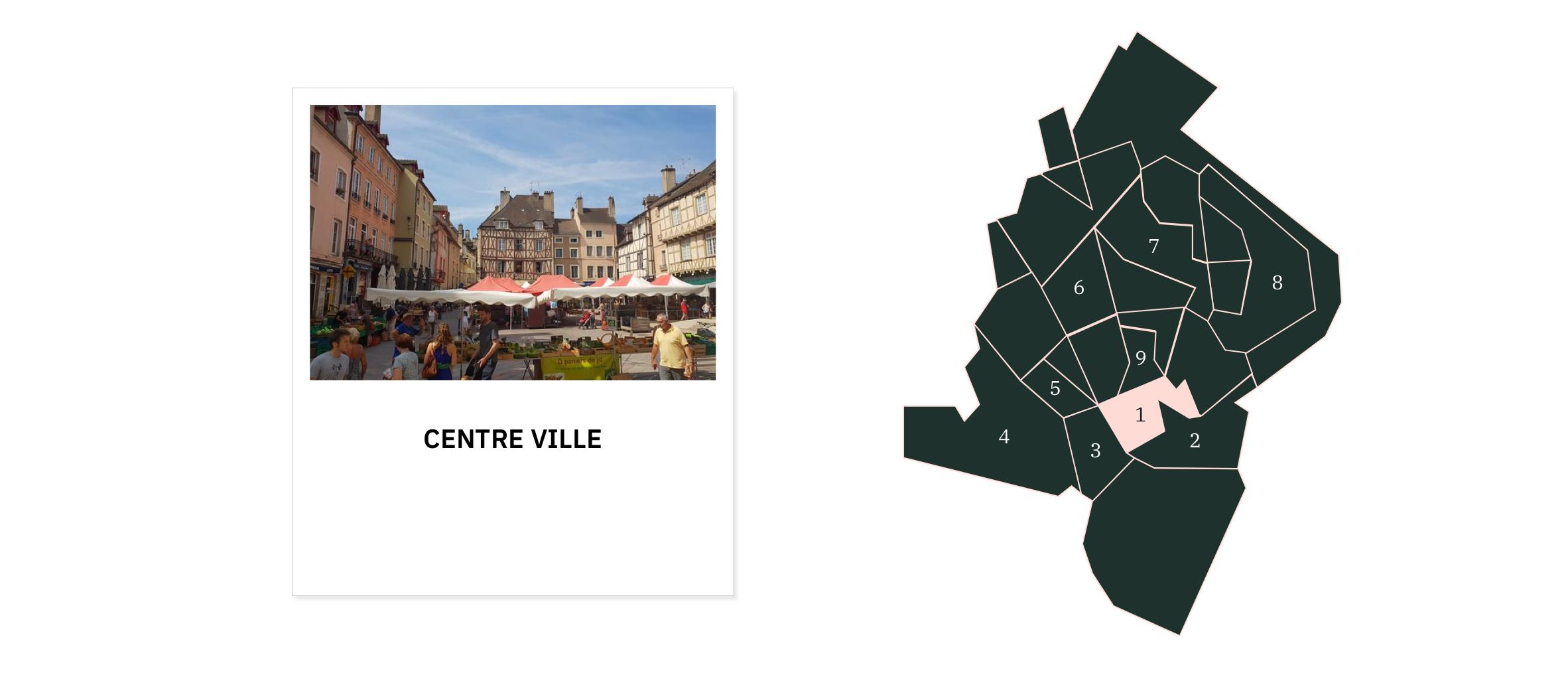 Centre ville ⎮ Quartiers de Chalon-sur-Saône