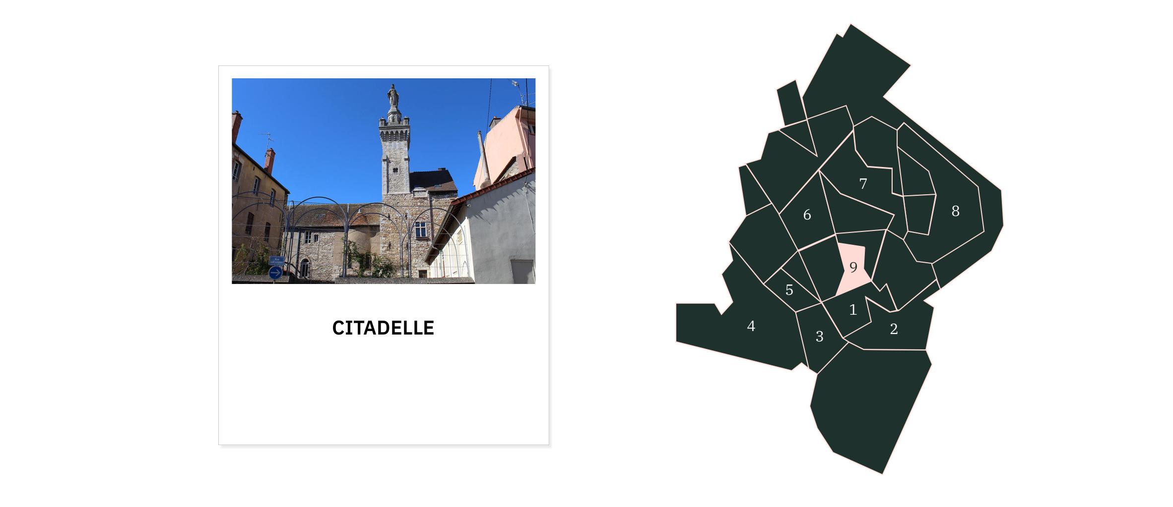 La Citadelle ⎮ Quartiers de Chalon-sur-Saône