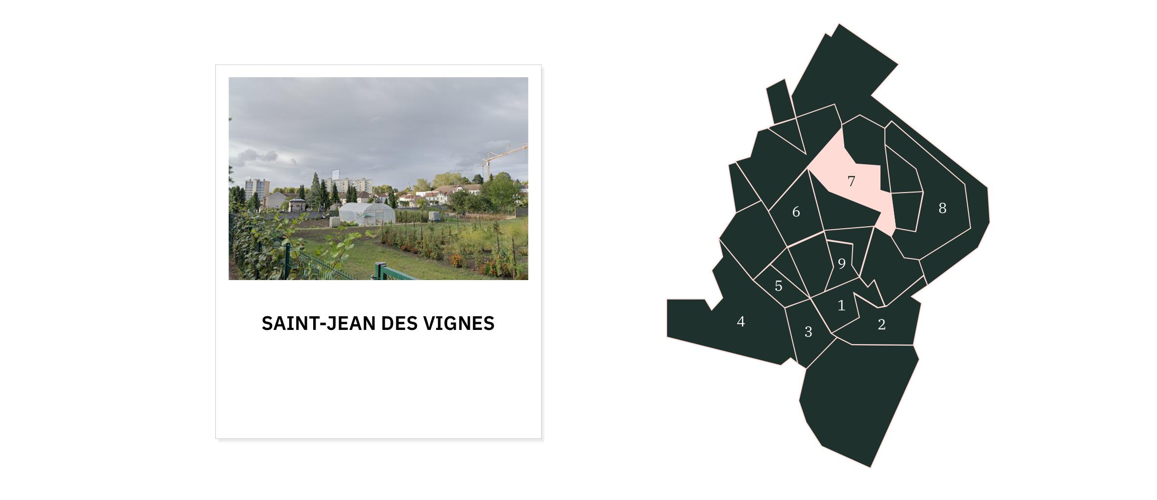 Saint-Jean des Vignes ⎮ Quartiers de Chalon-sur-Saône