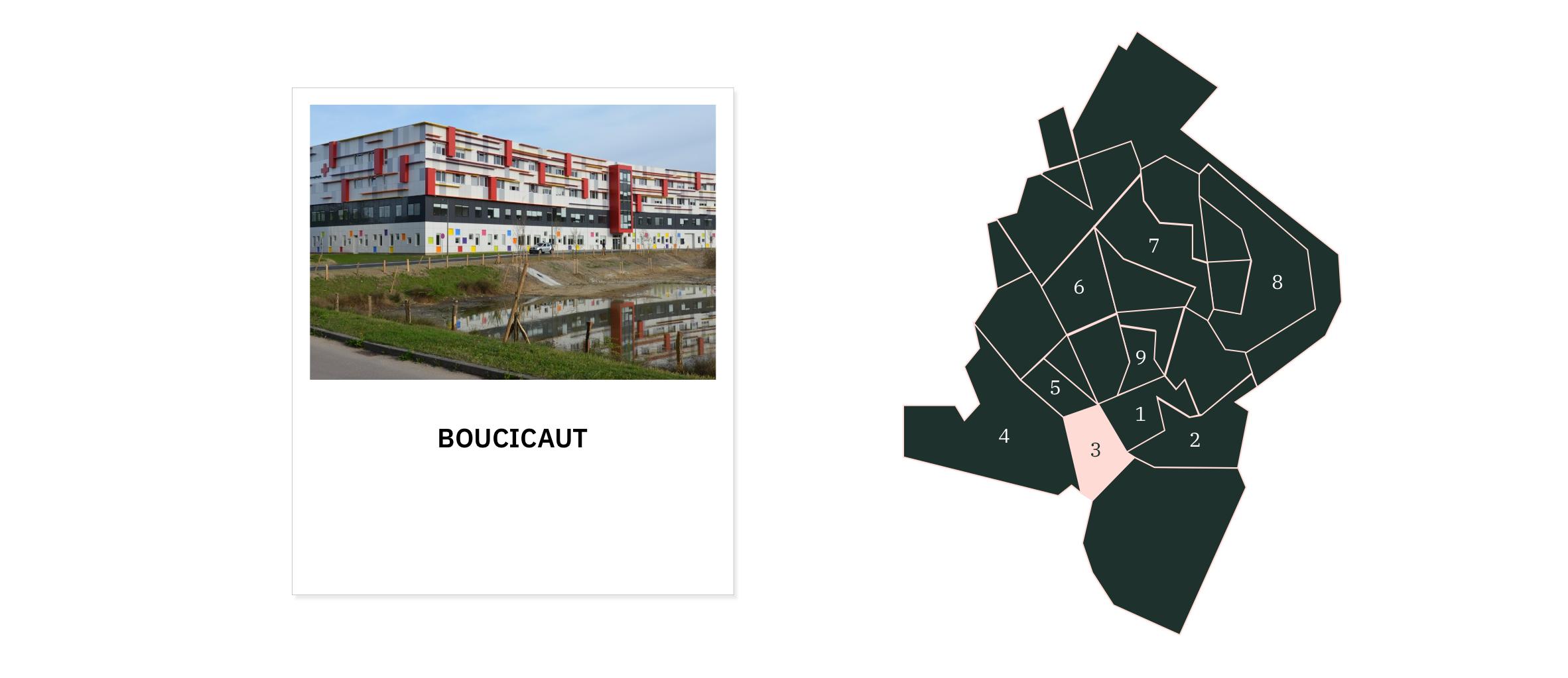 Boucicaut ⎮ Quartiers de Chalon-sur-Saône
