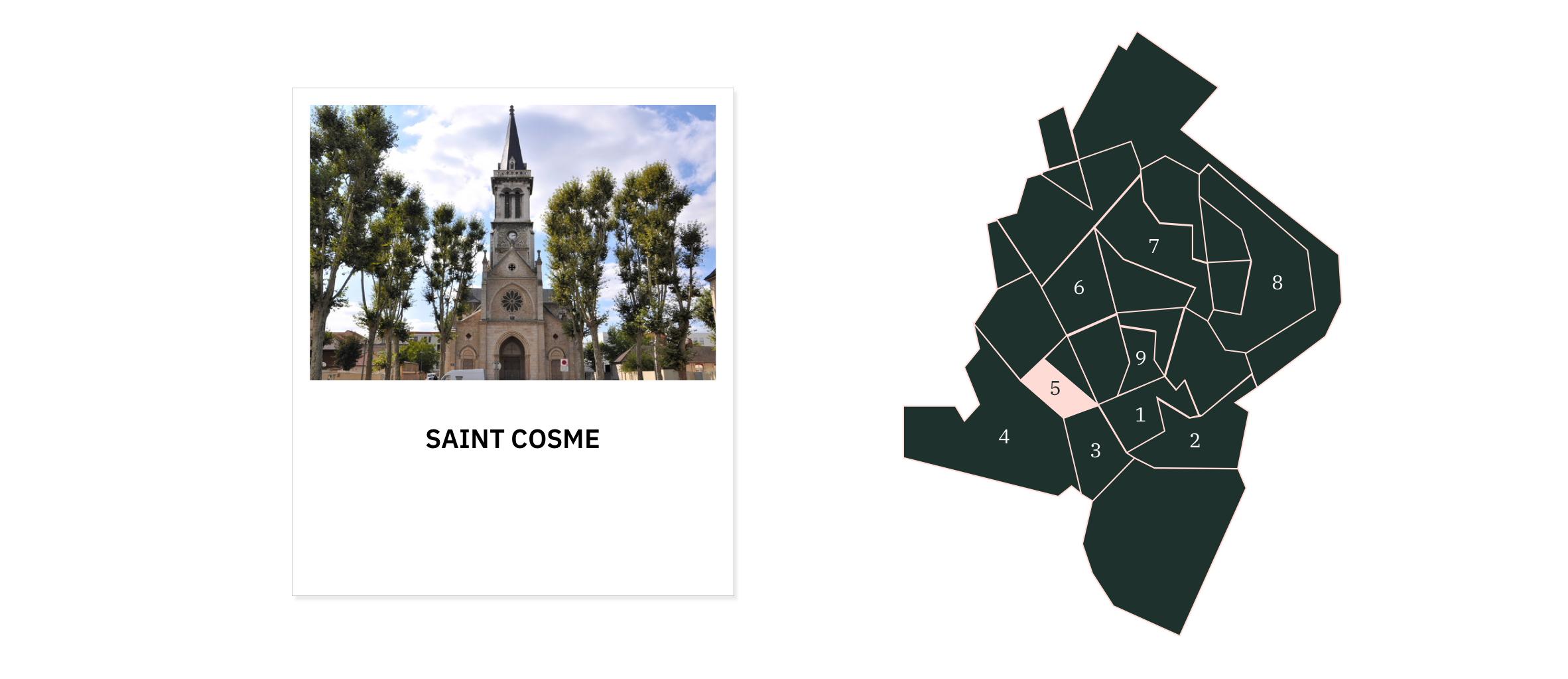 Saint-Cosme ⎮ Quartiers de Chalon-sur-Saône