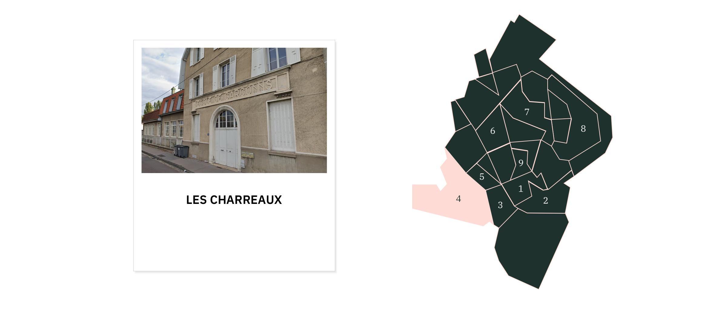 Les Charreaux ⎮ Quartiers de Chalon-sur-Saône
