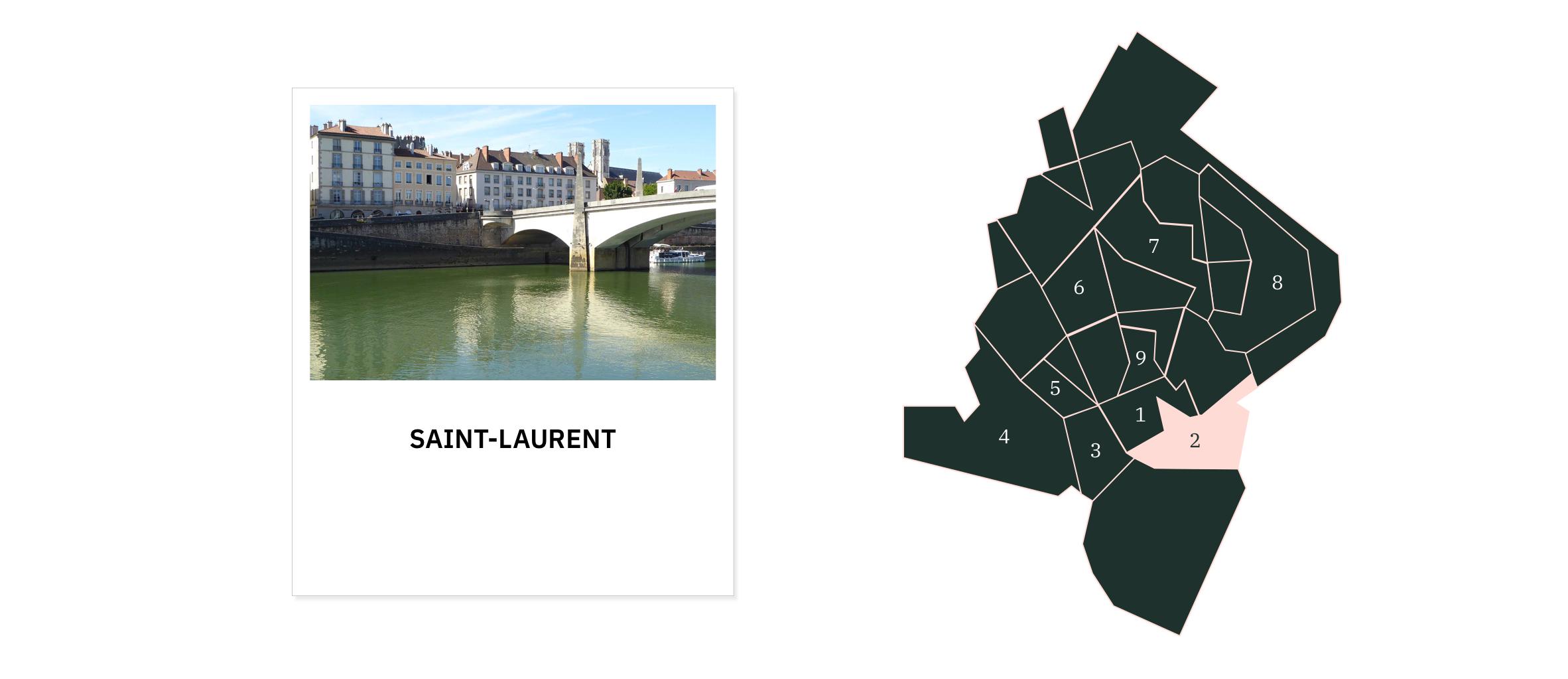 Saint-Laurent ⎮ Quartiers de Chalon-sur-Saône