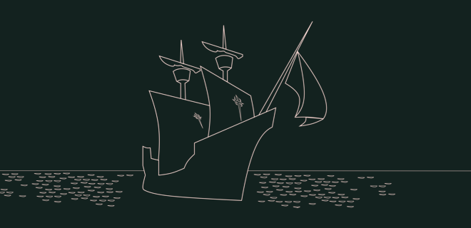 Bateau du navigateur Magellan