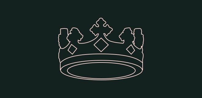 Couronne royale illustrant le titre de propriété immobilière