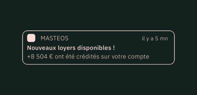 Notification Masteos