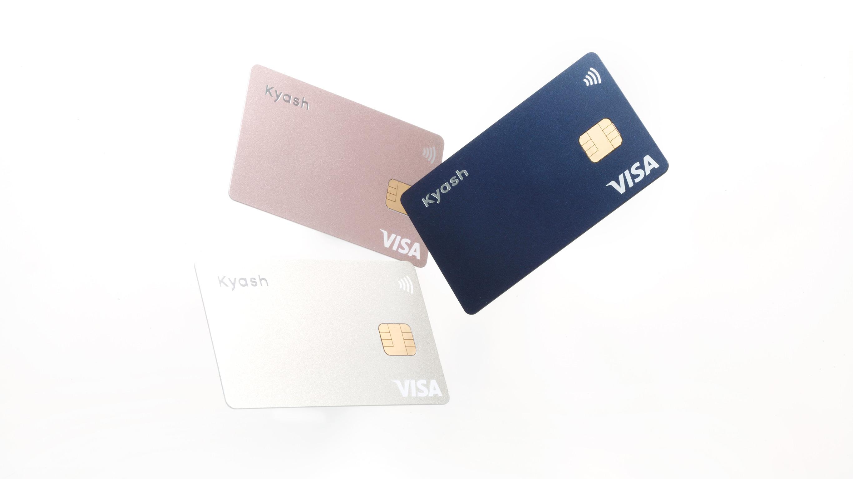 最もシンプルなデザインのVisaカード Kyash Card - Kyash(キャッシュ)