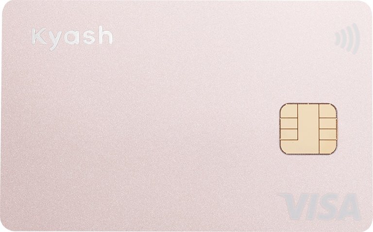Kyash Card Pink(Apple Pay / Google Pay 対応)