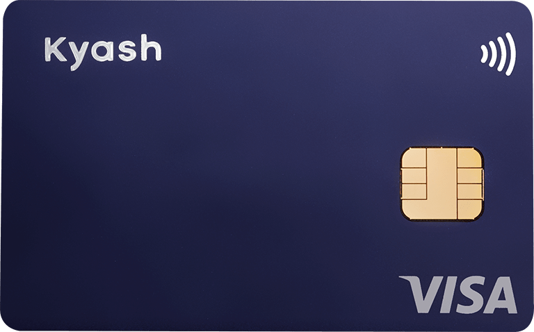 Kyash Card Navy(Apple Pay / Google Pay 対応)