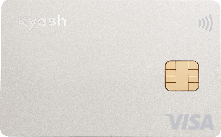 Kyash Card Silver(Apple Pay / Google Pay 対応)