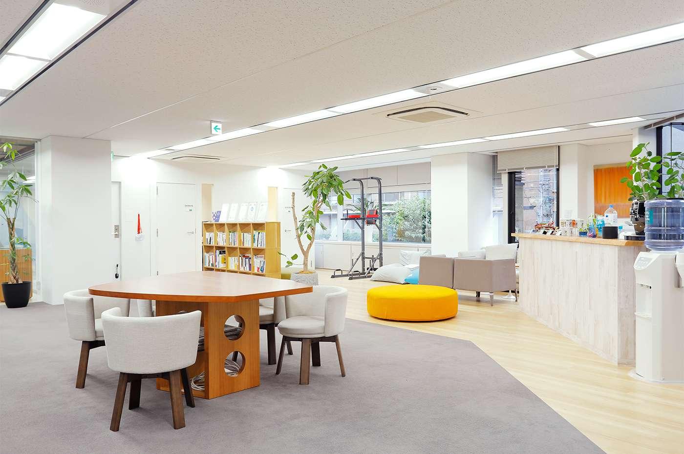 Kyashオフィス ミーティングスペース