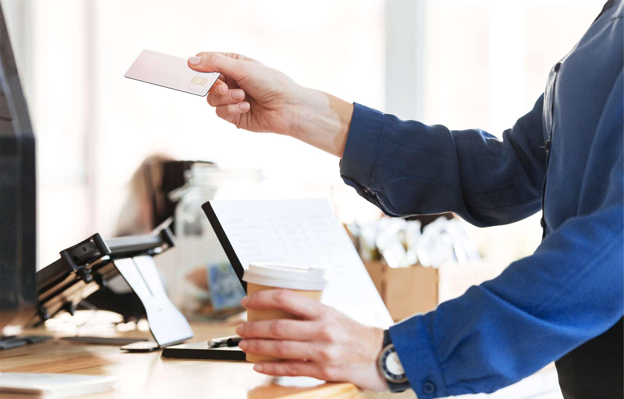 Kyash Visaカードでお店でカード払い