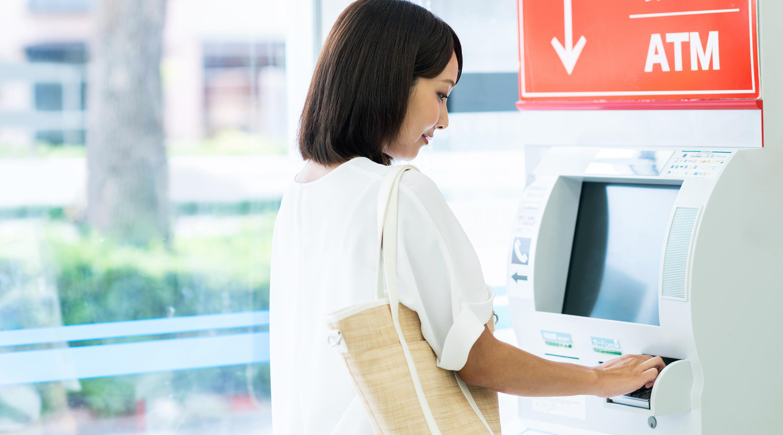 銀行口座やセブン銀行ATMから出金できる|Kyash
