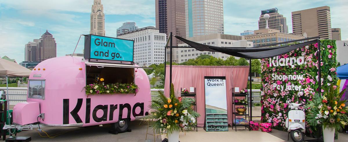 Multipurpose brand awareness booth at Columbus Pride