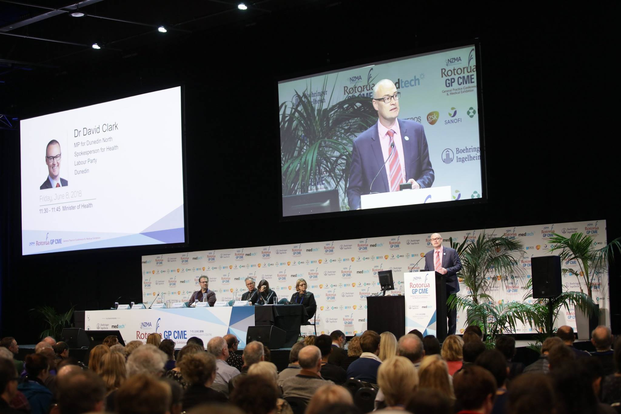 Hon Dr David Clark Speech - GP CME 2018