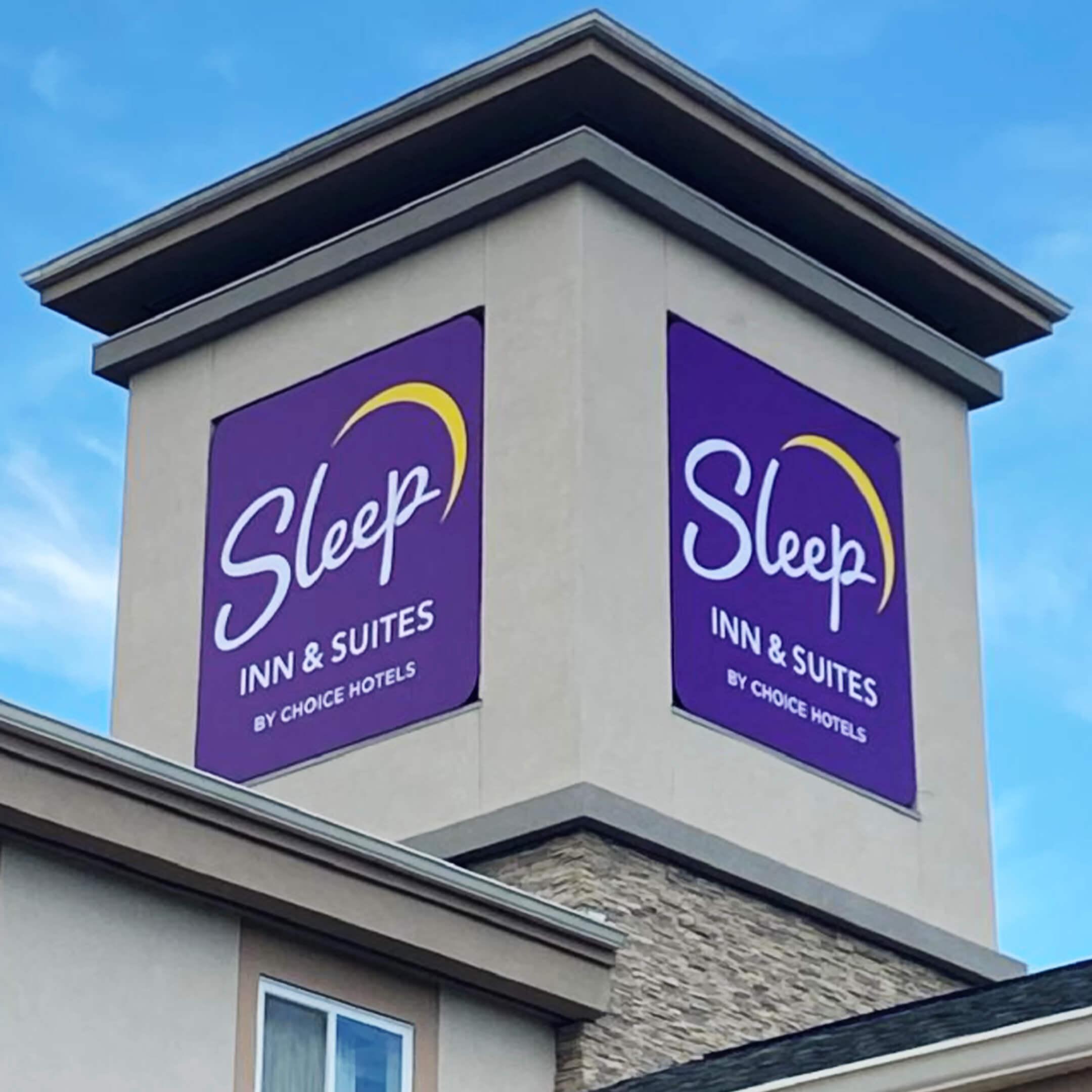 One of several Sleep Inn & Suites we've updated.