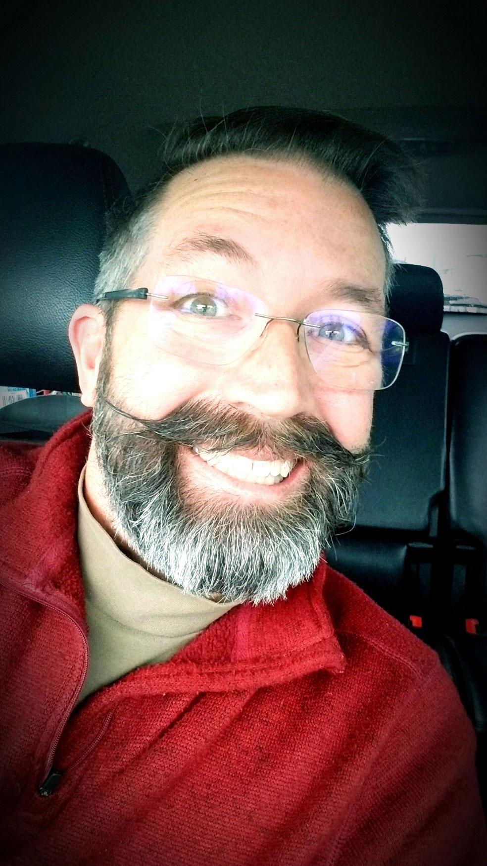 A Dapper Mustache!